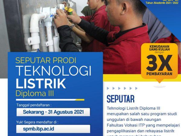 Pendaftaran Mahasiswa Baru TA. 2021/2022